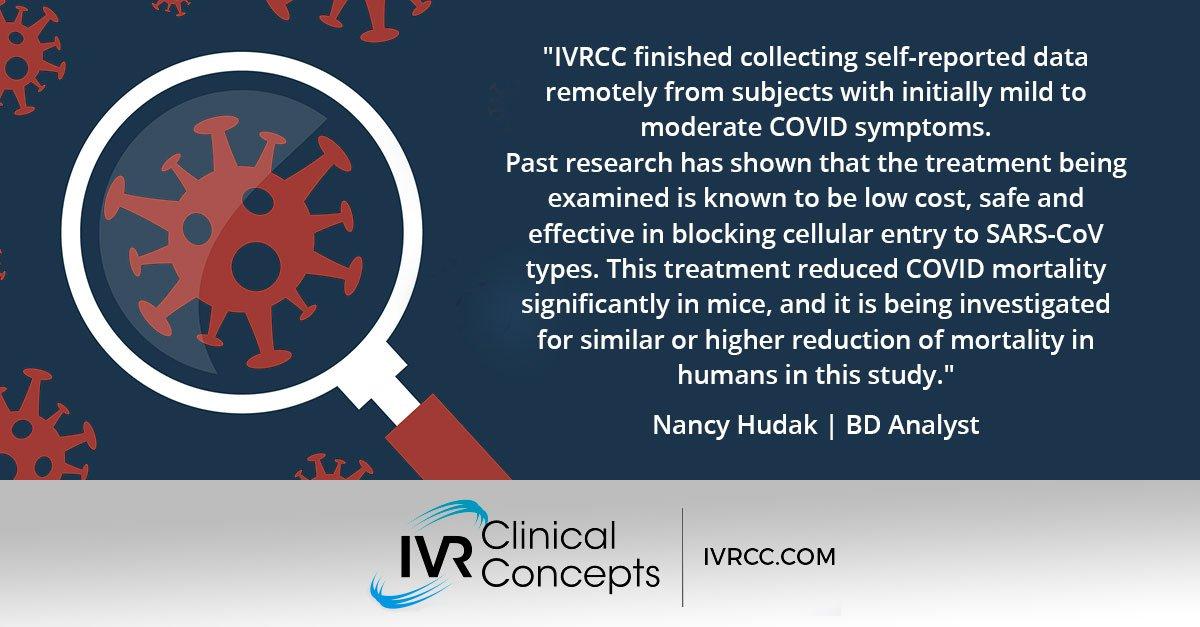 Quote from Nancy Hudak, IVRCC